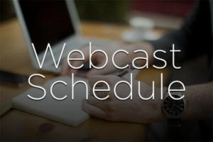 webcast-schedule