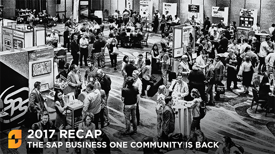 2017 Biz.ONE Recap - The SAP Business One Community is Back